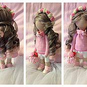 """Куклы и игрушки ручной работы. Ярмарка Мастеров - ручная работа Интерьерная кукла """"Розочка"""". Handmade."""