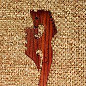 Украшения ручной работы. Ярмарка Мастеров - ручная работа Палочка для волос Посох волхва, палисандр Сантос. Handmade.