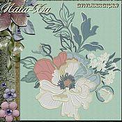Материалы для творчества handmade. Livemaster - original item Nocturne for autumn (application). Handmade.