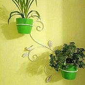 Цветы и флористика handmade. Livemaster - original item Stand for flowers Bird on two rings. Handmade.