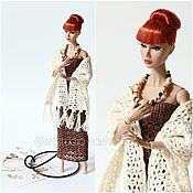 handmade. Livemaster - original item Openwork boho style set for Barbie, Poppy Parker. Handmade.
