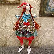 Куклы и игрушки ручной работы. Ярмарка Мастеров - ручная работа Ангелочек Рыжуля. Handmade.