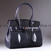 Сумки и аксессуары handmade. Livemaster - original item Bag ladies genuine leather Stingray IMC0519VC. Handmade.