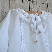 Работы для детей, ручной работы. Ярмарка Мастеров - ручная работа крестильная рубаха АФАНАСИЙ. Handmade.