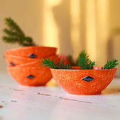 Посуда handmade. Livemaster - original item Rosette-Mandarin, handmade ceramics. Handmade.