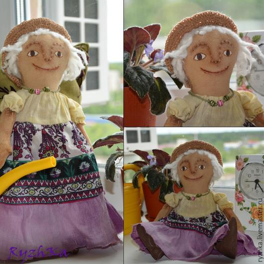 Ароматизированные куклы ручной работы. Ярмарка Мастеров - ручная работа. Купить Чердачная  Фея-цветочница. Handmade. Коричневый