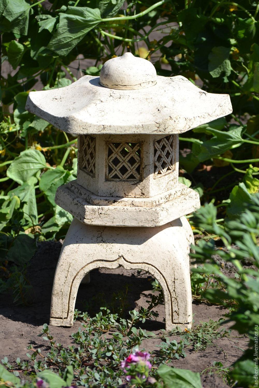 Японский фонарь для сада своими руками фото 743