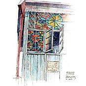 Дизайн и реклама ручной работы. Ярмарка Мастеров - ручная работа Городские зарисовки. Handmade.
