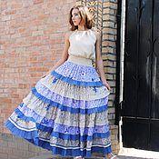 "Одежда handmade. Livemaster - original item Chic , stylish skirt boho- "" Fairy "". Handmade."