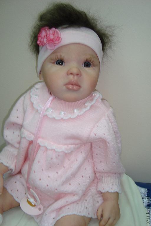 Куклы-младенцы и reborn ручной работы. Ярмарка Мастеров - ручная работа. Купить кукла реборн Джамина.. Handmade. Бежевый, мохер