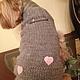 Одежда для собак, ручной работы. Жилет для маленькой собачки Сердце. Татьяна (tanasov). Ярмарка Мастеров. Аксессуары, полушерсть