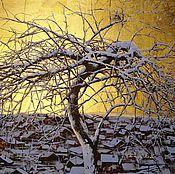 """Картины и панно ручной работы. Ярмарка Мастеров - ручная работа Картина из серии """"Золотой рассвет"""" 7. Handmade."""