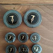 Винтаж handmade. Livemaster - original item Vintage clothing: Vintage Trussardi buttons. Handmade.