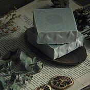 """Косметика ручной работы. Ярмарка Мастеров - ручная работа Мыло с нуля """"Лекарь"""" с цинком и углём. Handmade."""