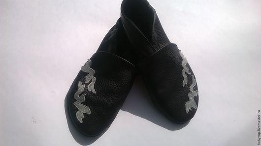 Кожаные женские мокасины для занятия спортом,домашние тапочки,обувь в дорогу