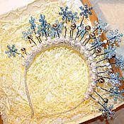 Аксессуары для фотосессии ручной работы. Ярмарка Мастеров - ручная работа Корона снежинки. Handmade.