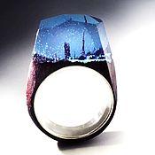 Украшения handmade. Livemaster - original item Wooden ring