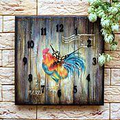 Для дома и интерьера ручной работы. Ярмарка Мастеров - ручная работа Часы «Le coq gaulois». Handmade.