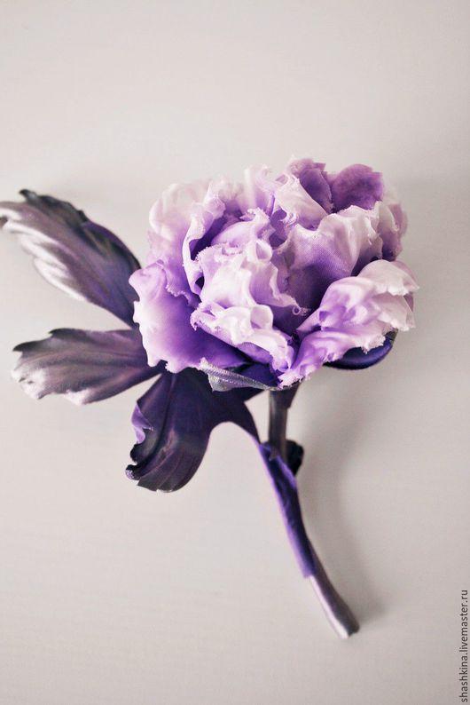 """Броши ручной работы. Ярмарка Мастеров - ручная работа. Купить Брошь-роза """"Джулия"""".Цветы из шелка, цветы из ткани, шелковые цветы.. Handmade."""