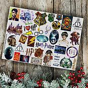 Материалы для творчества handmade. Livemaster - original item Stickers: Stickers
