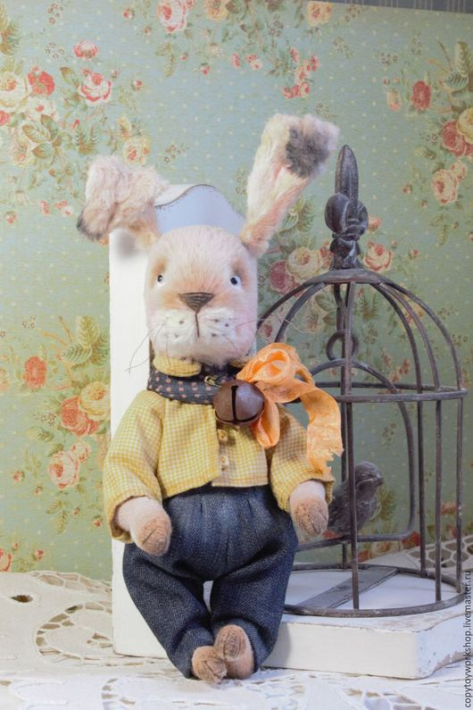 Мишки Тедди ручной работы. Ярмарка Мастеров - ручная работа. Купить Кролик тедди   Bunny. Handmade. Кролик, милая игрушка