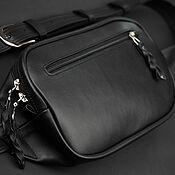 Сумки и аксессуары handmade. Livemaster - original item Waist bag made of leather