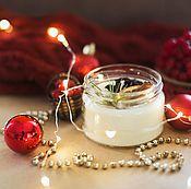 Сувениры и подарки handmade. Livemaster - original item Natural soy candle eco candle natural red. Handmade.