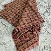 Аксессуары handmade. Livemaster - original item Wraps: The scarf is woven on a hand loom. Scarf from Merino wool. ball. Handmade.