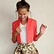 """Пиджаки, жакеты ручной работы. Жакет """"Amore mio"""". Ciao, Bella!  женственная одежда. Интернет-магазин Ярмарка Мастеров. Однотонный"""
