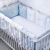 Работы для детей, handmade. Livemaster - original item Bumpers for the crib. Handmade.