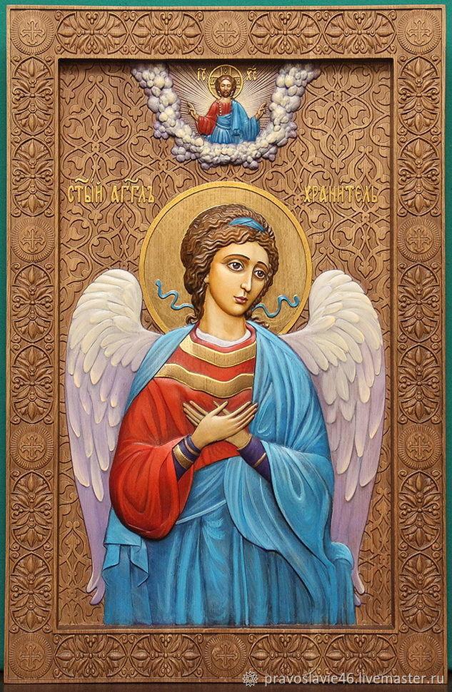 """Икона """"Ангел-хранитель"""", Иконы, Курск,  Фото №1"""