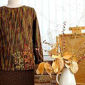 Одежда handmade. Livemaster - original item Sweatshirt colors of autumn work to order. Handmade.