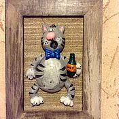 Картины и панно ручной работы. Ярмарка Мастеров - ручная работа Панно из соленого теста. Handmade.