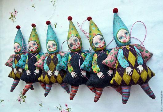 ` Ангелочек на счастье`. Коллекционная игрушка.Ярмарка Мастеров. Olga Mart.