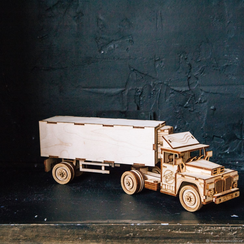 Конструктор грузовик Рефрижератор, Техника роботы транспорт, Санкт-Петербург,  Фото №1
