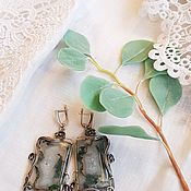 Украшения handmade. Livemaster - original item Earrings of agate, Ijevan. Handmade.