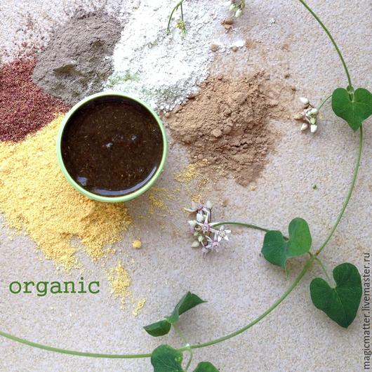 РАСА органическая очищающая паста для лица
