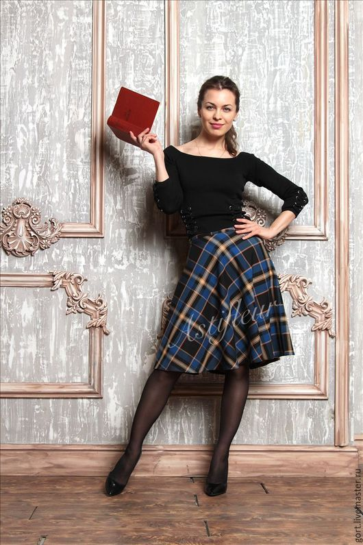 теплая юбка миди офисная зимняя шерстяная юбка теплая миди на заказ не дорого шерсть тепло зима качественная юбка классическая теплая зимняя юбка из шерсти нарядная яркая шерстяная юбка шерсть синяя в