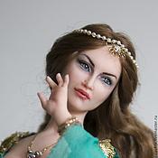 Куклы и игрушки ручной работы. Ярмарка Мастеров - ручная работа восточная красавица. Handmade.