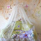 Для дома и интерьера handmade. Livemaster - original item Cornice for canopy bed