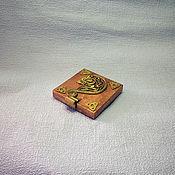 Сумки и аксессуары handmade. Livemaster - original item Cigarette Case Stylized №4