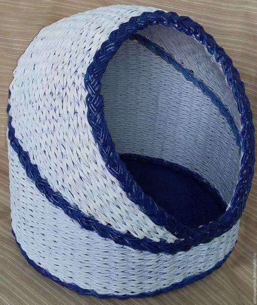 Плетеный домик для домашнего питомца