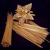 Инструменты для кукол и игрушек ручной работы. Ярмарка Мастеров - ручная работа Пшеничная соломка. Handmade.