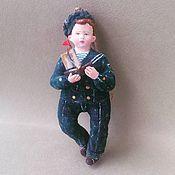 """Куклы и игрушки ручной работы. Ярмарка Мастеров - ручная работа Авторская ватная игрушка """"Юнга"""". Handmade."""
