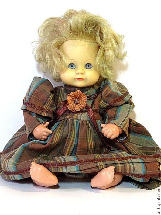Винтажные предметы интерьера. Ярмарка Мастеров - ручная работа. Купить Коллекционная кукла, черепашка Schildkrot.. Handmade. Винтаж, игрушка, текстиль