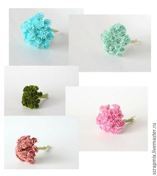 Открытки и скрапбукинг ручной работы. Ярмарка Мастеров - ручная работа. Купить Цветы гипсофилы разных цветов. Handmade. Скрапбукинг, для скрапбукинга