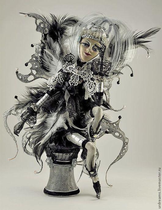 Коллекционные куклы ручной работы. Ярмарка Мастеров - ручная работа. Купить Фея снов. Handmade. Серебряный, подарок на любой случай