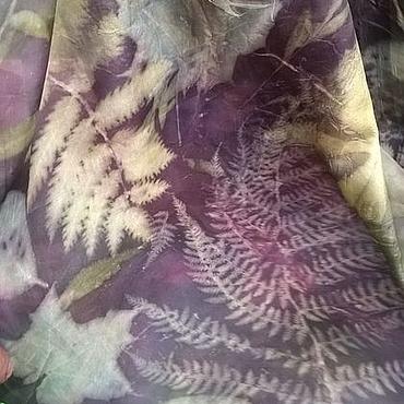 Аксессуары ручной работы. Ярмарка Мастеров - ручная работа Шелковый шарф, шелковый платок, палантин Ночные Разговоры. Handmade.