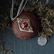 Украшения ручной работы. Ярмарка Мастеров - ручная работа Этнический кулон Rhomb #2. Handmade.