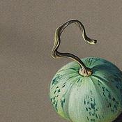 Картины и панно ручной работы. Ярмарка Мастеров - ручная работа Картина пастелью Зеленый дуэт.. Handmade.